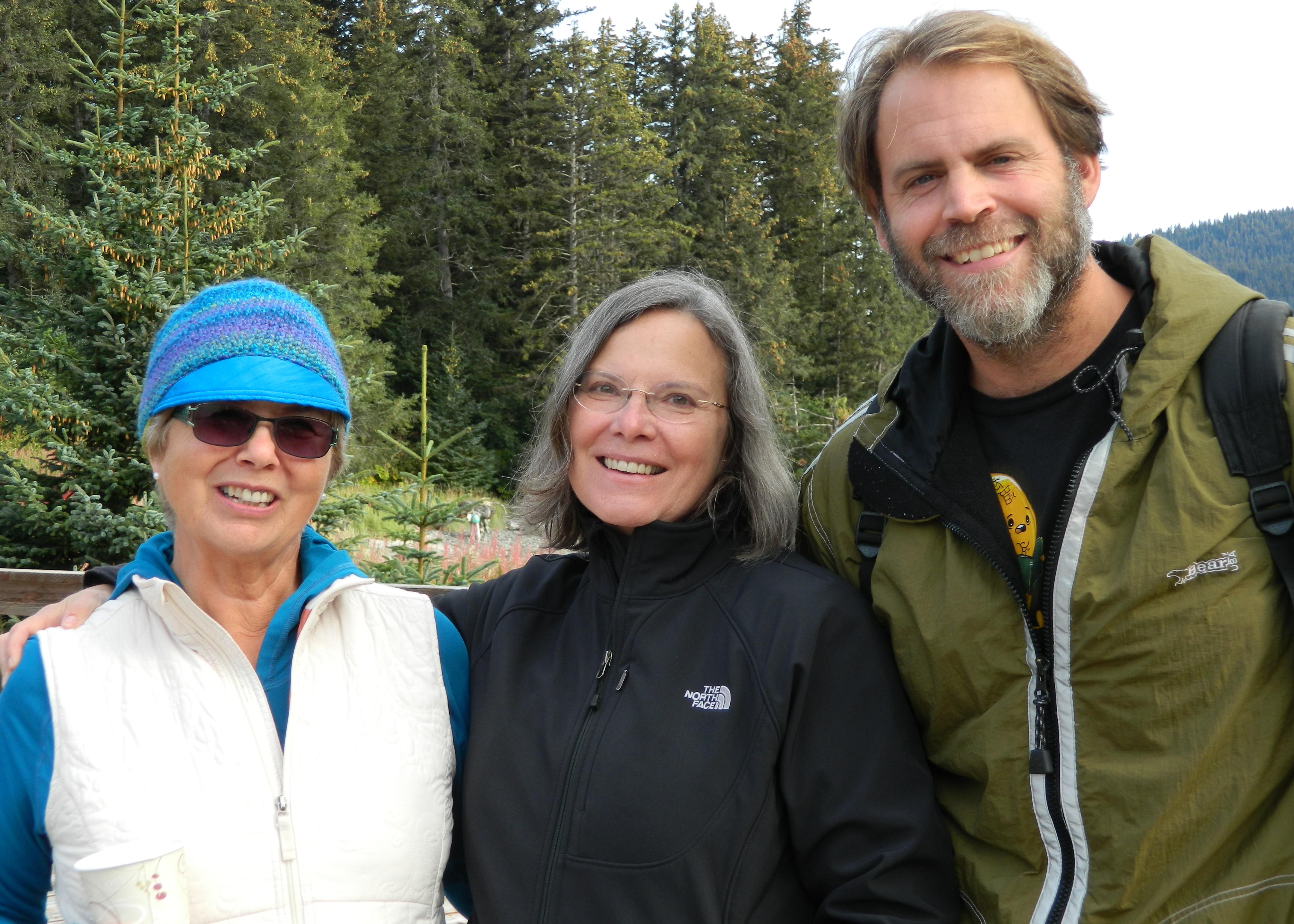 Linda Martin, Carolyn Forche, and Chris Baron