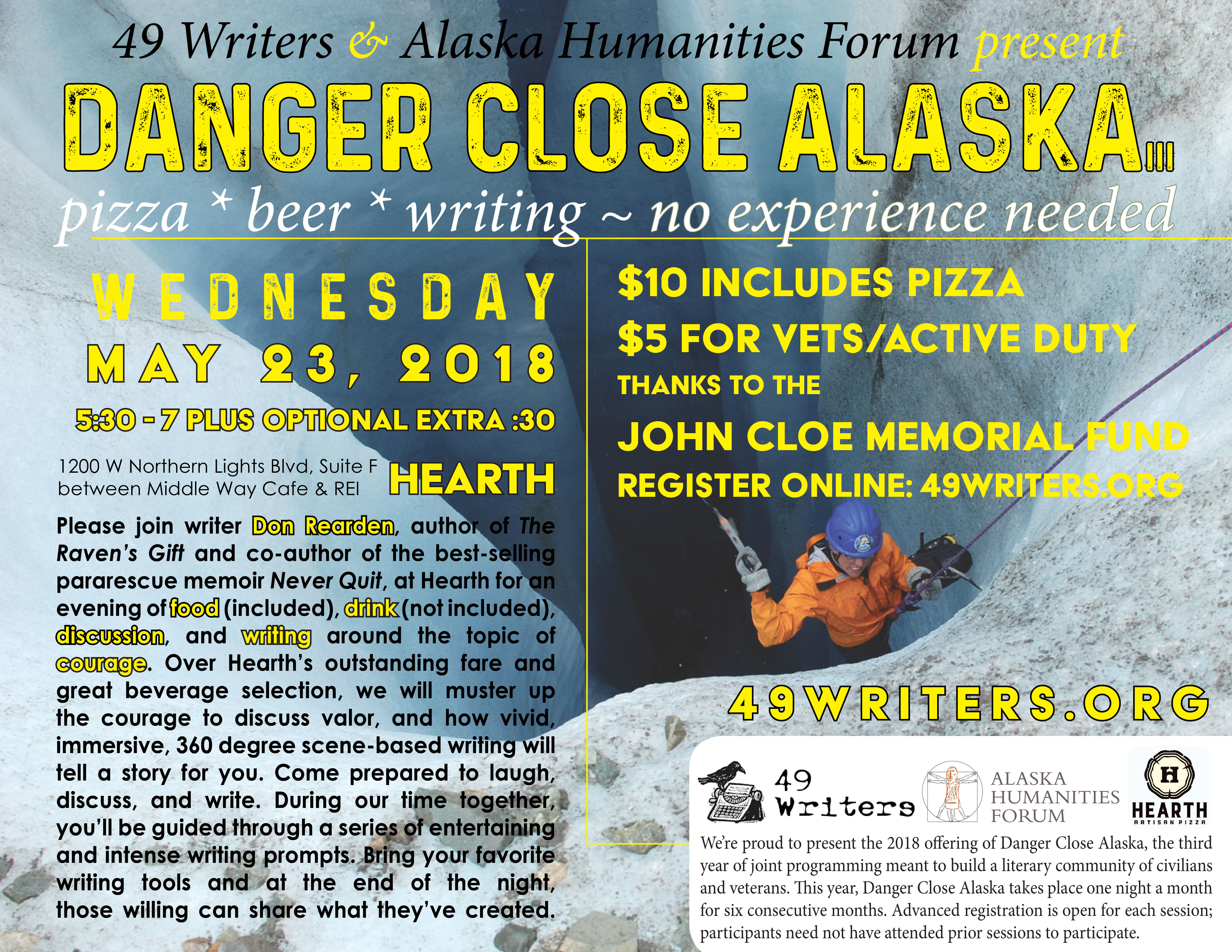 Danger Close Alaska - 49 Writers, Inc
